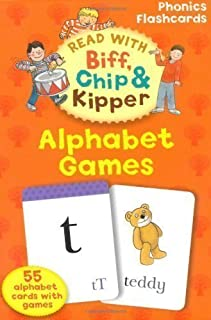 Oxford Reading Tree Read With Biff, Chip, and Kipper Flashcards: Alphabet Games (Read With Biff Chip & Kipper) by Hunt, Mr Roderick, Ruttle, Ms Kate (2011)