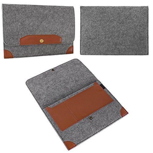 eFabrik Sleeve für Odys Evolution 12 (11,6 ') Tasche Hülle Schutz Case Cover Zubehör Filz Grau
