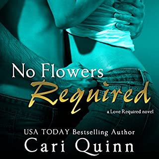 No Flowers Required audiobook cover art