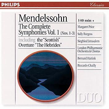 Mendelssohn: The Complete Symphonies Vol. 1