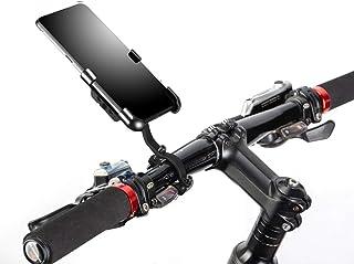 Soporte Móvil Bicicleta,Ancho Ajustable Porta Movil Bicicleta,Soporte para Movil Bicicleta,Rotación Universal de 360 Grado...