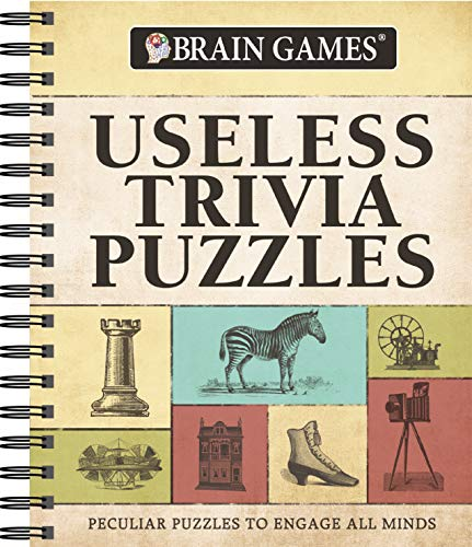 Compare Textbook Prices for Brain Games Trivia - Useless Trivia  ISBN 9781640300941 by Publications International Ltd.,Brain Games