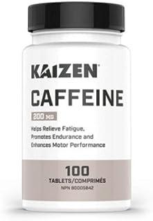 Kaizen Caffeine 200 mg 100 Tablets, 100 g