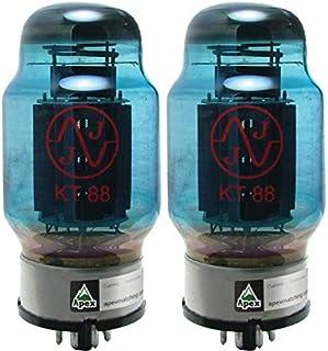 JJ KT88 Blue Glass Vacuum Tube, Apex Matched Pair
