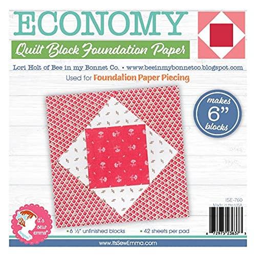 It's Sew Emma Foundation Paper 6