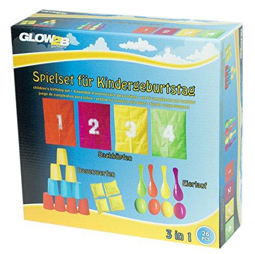 Glow2B Germany GmbH 5058053105 Spielset für Kindergeburtstag-Partyset-Kinderparty