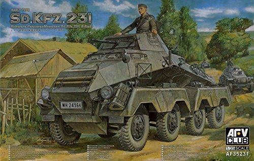 AFVクラブ 1/35 Sd.Kfz231(8-Rad) 8輪重装甲車 初期型 プラモデル