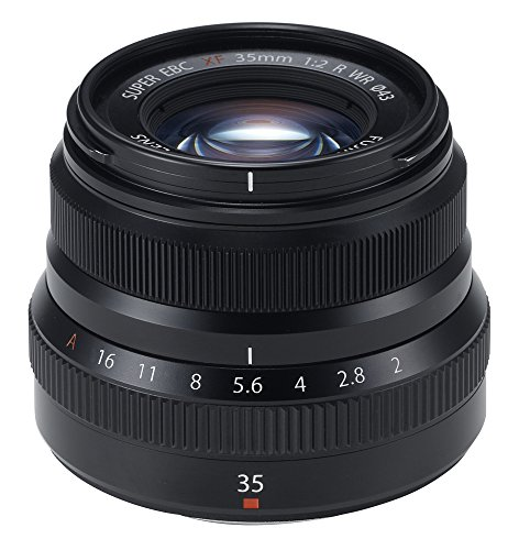Fujifilm Fujinon XF35mmF2 R WR - Black