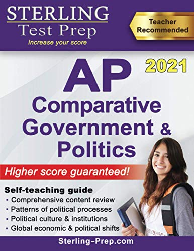 Sterling Test Prep AP Comparative Government and Politics: Complete Content...