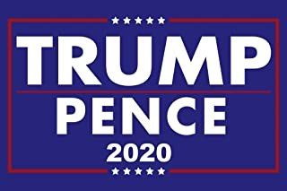 Donald Trump Mike Pence President 2020 Re Election Campaign Poster Cool Huge Large Giant Poster Art 36x54