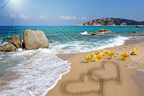 YHKTYV Die Sonne Scheint Auf Das Meer Strand Puzzle Für Erwachsene Kinder 120 Stück Intellektuelles Lernen Pädagogisches Dekompressionsspiel Freizeit