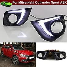 2pcs Blanco/Amarillo niebla luces de conducción diurna Luz Decoración lámpara LED luz de aviso de coche Emblemas ajuste personalizado