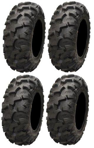 Full set of ITP Blackwater Evolution 28x10-12 ATV Tires (4)