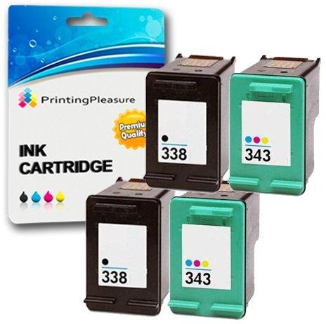 Printing Pleasure 4 Compatibles Cartouches d'encre...