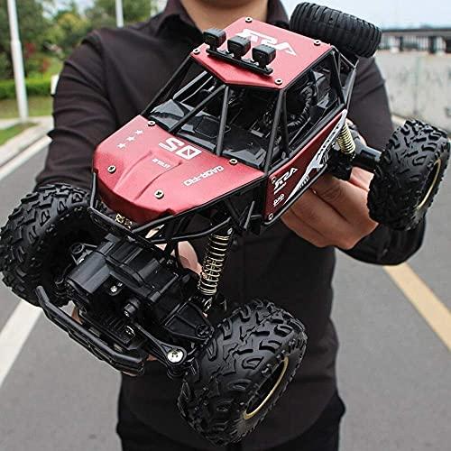 ZCYXQR Coches de Control Remoto 4x4 Conducción 4WD Rojo Off-Road 1:14 Escala High Speed RTR Buggy Monster Truck 2.4Ghz Juguetes eléctricos Durante 10 años