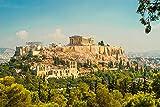 DesFoli Athen Griechenland Akropolis Stadt Poster