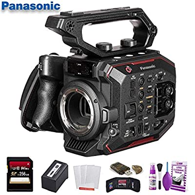Panasonic AU-EVA1 Compact 5.7K Super 35mm Cinema Camera (AU-EVA1PJ) W/ 256GB Memory Card, Cleaning Set and More. by Panasonic