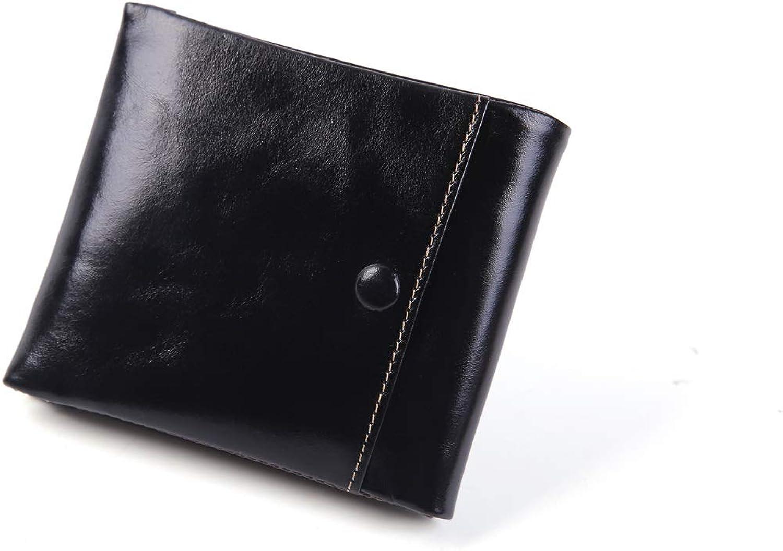 Uzanesx ID Fenster Brieftasche für Männer, Bifold Top Flip Flip Flip Wallet, schlanke und stilvolle Geschenk, Multi Card Extra Capacity Travel Wallet (Farbe   schwarz) B07K9V7VFM c6dd4e