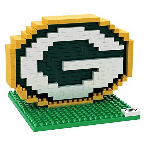FOCO Green Bay Packers 3D BRXLZ Mini Helmet Jeu de constructio