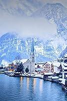 1000ピースのパズル、大人のパズル、挑戦的なおもちゃ、オーストリアの雪、木製のパズルPUZZLE (50×75 CM)
