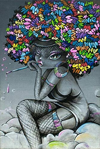 Decorsy Rompecabezas Puzzle 1000 Piezas Adultos Chica De Arte Abstracto Regalos Divertidos De Juguetes Educativos Para Niños