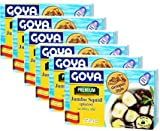 Premium Jumbo Squid Octopus Style in Olive Oli by Goya 4 oz Pack of 6