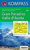 Gran Paradiso, Valle d' Aosta: Carta escursioni / bike / sci alpinismo. Wandern / Rad / Skitouren. 1:50.000