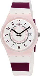Swatch Miss Yacht Quartz Movement White Dial Ladies Watch GP402