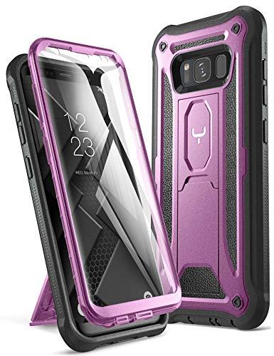 Youmaker cavalletto custodia Galaxy S8, corpo protezione schermo integrata Heavy Duty protezione antiurto robusto cover Samsung Galaxy S814,2cm Cruz V2 Fresh Foam