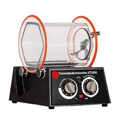 BananaB Poliermaschinen 5Kg Capacity Jewelry polishing machine 220V Jewelry Tumbler Polierer 190 * 180mm Jewelry Polisher Finisher (5KG)