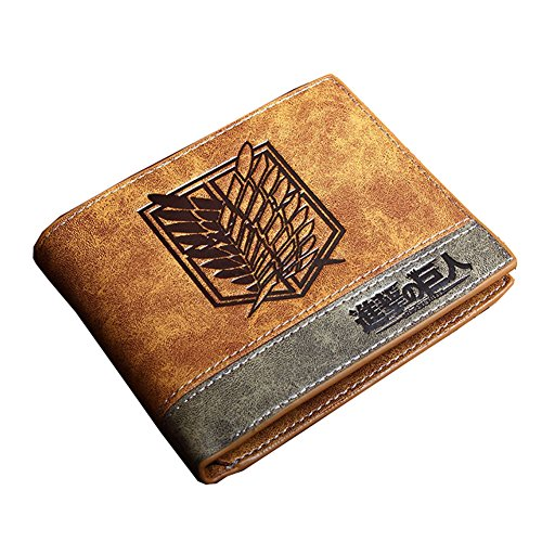 Attack on Titan Multi-Card Compact Center Flip Bifold Wallet - http://coolthings.us