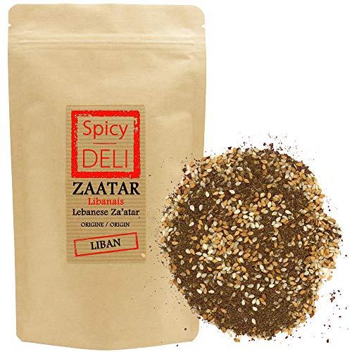 Zaatar / Za'atar (tomillo libanés) 250 gr 'resellable kraft bag'.