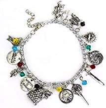 AG Goodies Game of Thrones Jewelry Bracelet - Winter is Coming, Perfect Choice for Costume, Theme Parties and Dating