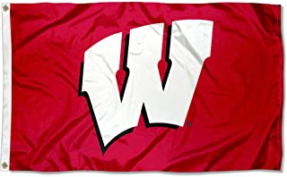 UW Wisconsin Badgers University Large College Flag