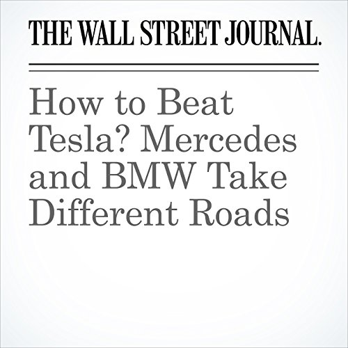 How to Beat Tesla? Mercedes and BMW Take Different Roads copertina