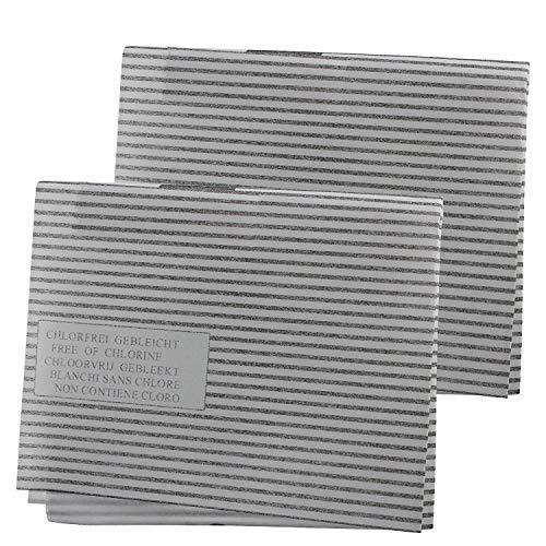 Repliapart Kohle-Fettfilter-Set für Dunstabzugshaube, für Homeking – Zannusi Küchenabzugsventilator (47 cm x 57 cm, 2 Stück)