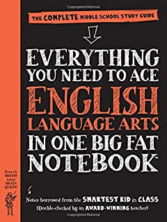 Everything You Need to Ace English Language Arts in One Big Fat Notebook: The Complete Middle School Study Guide (Big Fat ...