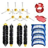 WEYO Kit de accesorios de repuesto para iRobot Roomba 600 Serie, recambios de repuesto para 600 605 610 615 616 620 625 630 631 632 639 650 651 660 670 671 680 681 698 Robot aspirador 6 piezas