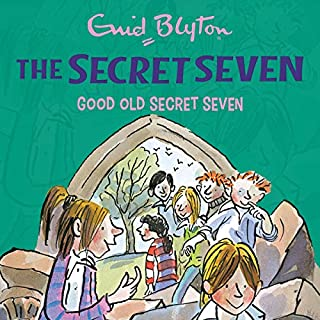 Good Old Secret Seven     Secret Seven, Book 12              By:                                                                                                                                 Enid Blyton                               Narrated by:                                                                                                                                 Esther Wane                      Length: 1 hr and 52 mins     1 rating     Overall 5.0