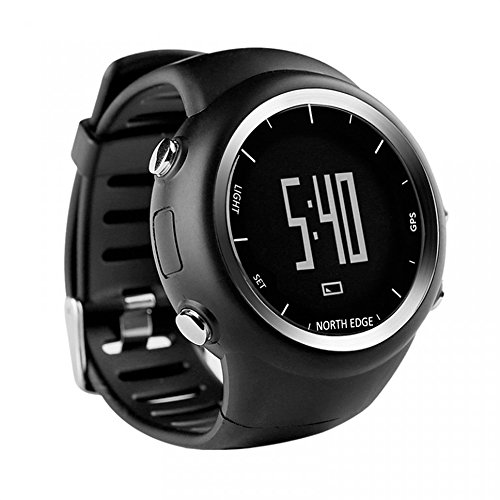 North Edge GPS Smartwatch multi sport luminoso da notte outdoor training fitness escursioni per IOS Android.