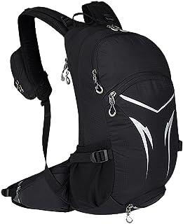 Dengyujiaasj Backpack, Raincoat Encampment Hiking Backpack With Rain Cover, Men Women Outside Sport Bag, 20L Climbing Ruck...