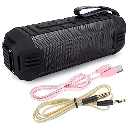 iFCOW Y280 ABS al aire libre IPX4 impermeable reproducción de música Bluetooth sonido inalámbrico 4.2 llamada bidireccional hablar