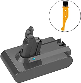 Energup Replacement Dyson Battery 21.6V Dyson V6 Battery Compatible for Dyson V6 595 650 770 880 DC58 DC59 DC61 DC62 Handheld Vacuum dc59 Dyson dc62 Battery 2.2Ah Li-ion Dyson Battery