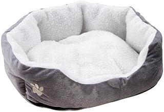 Husdjur Säng Husdjur Säng Grå S Storlek Hund Katt Mjuk Kudde Med Fleecefoder Varm Valp Kitty Sovande Säng Husdjur Korg Säng