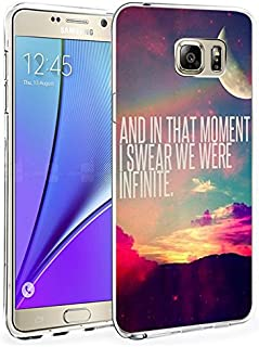 N5 Protective Cover Slim Fit Bumper Case for Samsung Galaxy Note 5 And in That Moment I Swear We were Infinite
