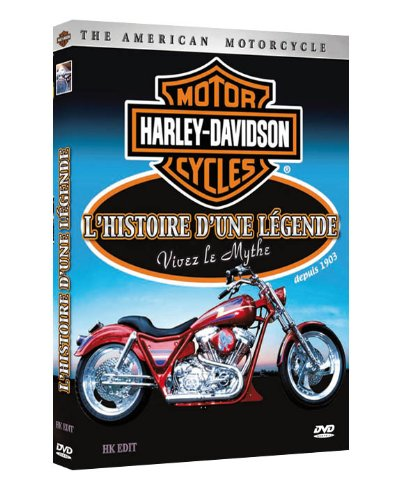 Harley Davidson : L'histoire d'une légende dvd