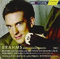 Brahms & His Contemporaries 1 by BRAHMS / FUCHS / ZEMLINSKY (2007-09-04)