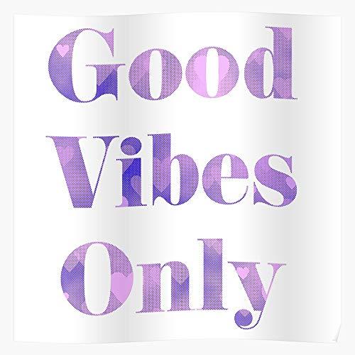 NEW FOREST Vibes Typography Wholesome Uplift Vibe Only Uplifting Good Das eindrucksvollste und stilvollste Poster für Innendekoration, das derzeit erhältlich ist