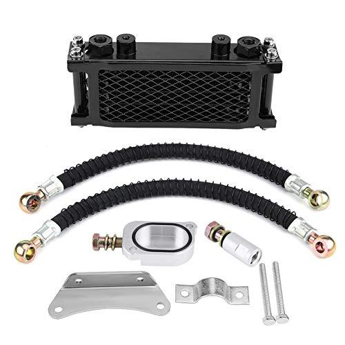 Duokon Motorfiets Motor Oliekoeler, Aluminium Motor Transmissie Oliekoeling Radiator Kit voor MSX125 YG125