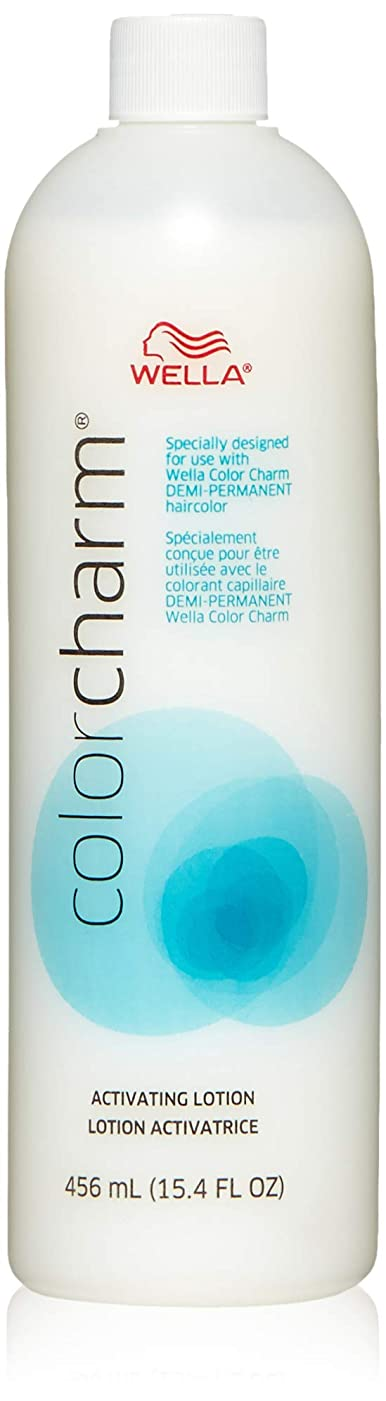 義務づけるメロディアス中でWella Color Charm Activating Lotion 16 Oz. by Wella